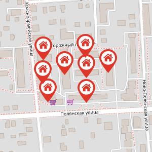 Карта: Отопление и горячее водоснабжение
