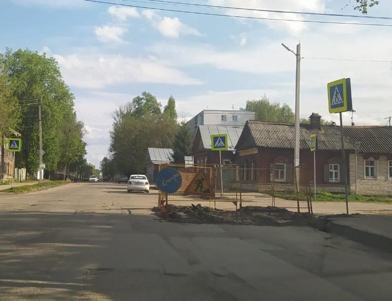 В Костроме подрядная организация начинает комплексный ремонт улицы Козуева
