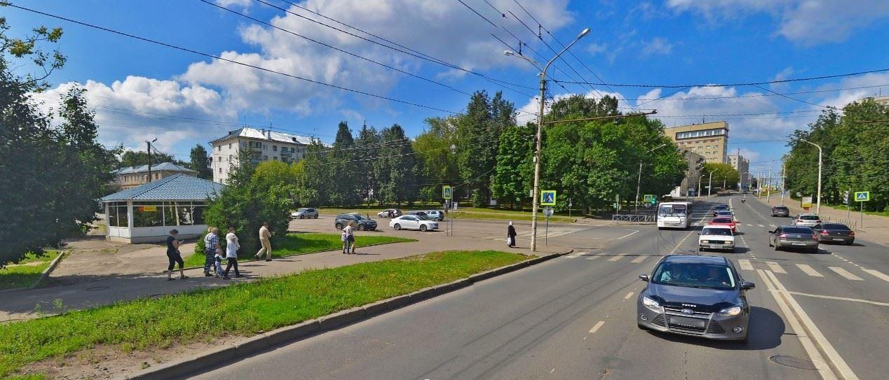 В Костроме изменится схема движения в районе пересечения улицы Советской и бульвара Петрковский