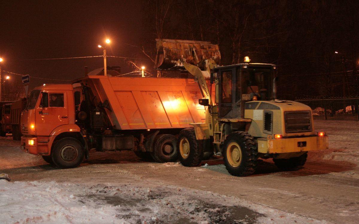 Уборка снега и противогололёдная обработка в Костроме организованы в круглосуточном режиме