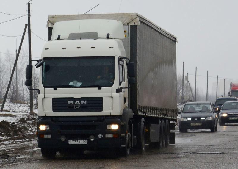 С 5 апреля в Костроме вводятся временные ограничения для движения большегрузного транспорта